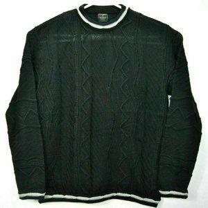 Vintage 90's Bergati L Sweater Black